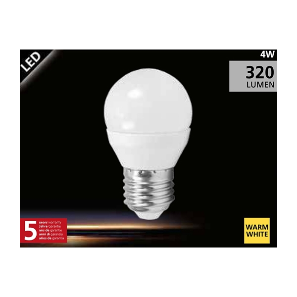 EGLO G45 LED lamp 4W (30W) E27 warm wit01