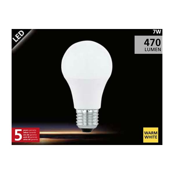 EGLO LED Lamp 5,5W (40W) E27 warm wit01