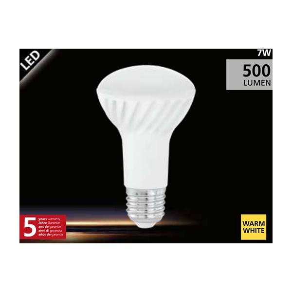 EGLO R63 LED lamp 7W (42W) E27 warm wit01