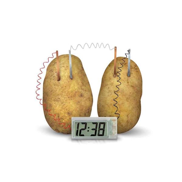 Green Science Aardappel Klok01