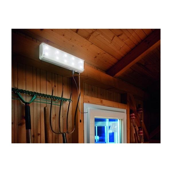 Binnenlamp zonneenergie 10LED