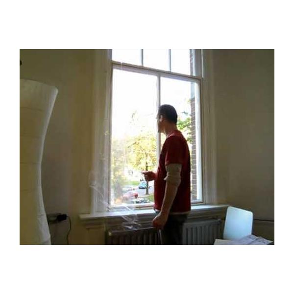 Tesa venster isolatiefolie 4 x 1,5 meter01