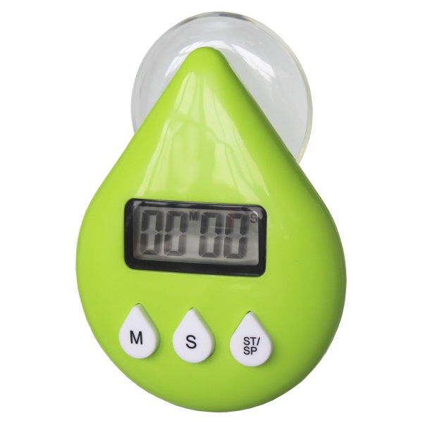 Digitale douchetimer druppel ECO