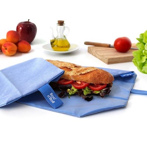 bocnroll-eco-blue_herbruikbare lunchwrap met stokbrood