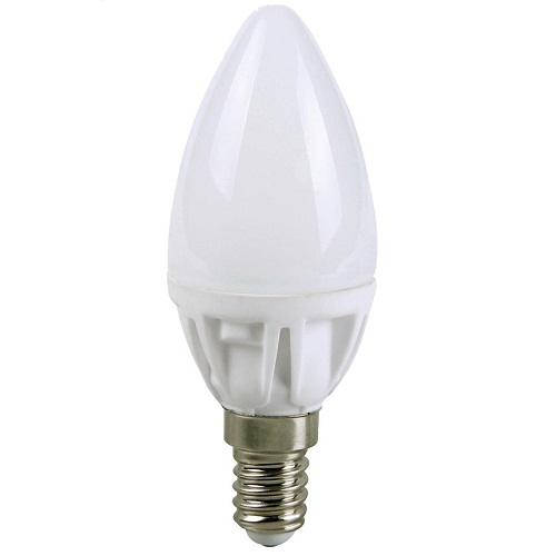 LEDlamp ecosavers 3W candle E14