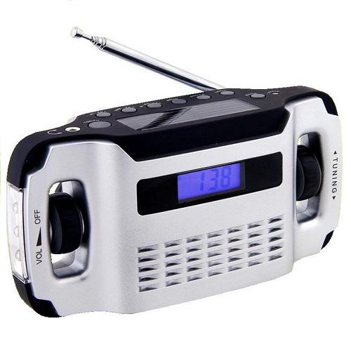 powerplus lynx oplaadbare radio solar