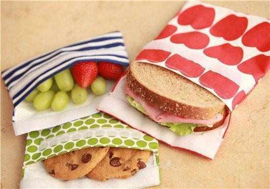 herbruikbare lunchskin