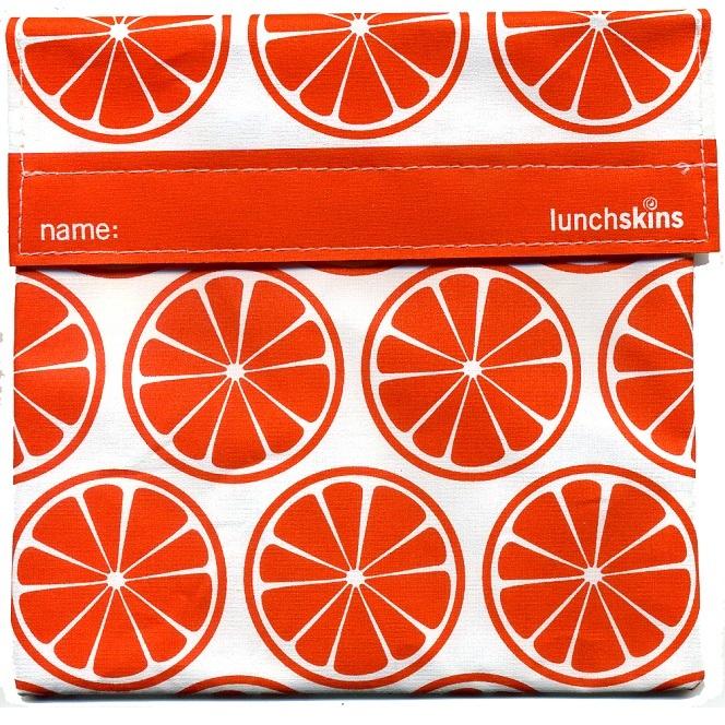 lunchskin big bag oranje
