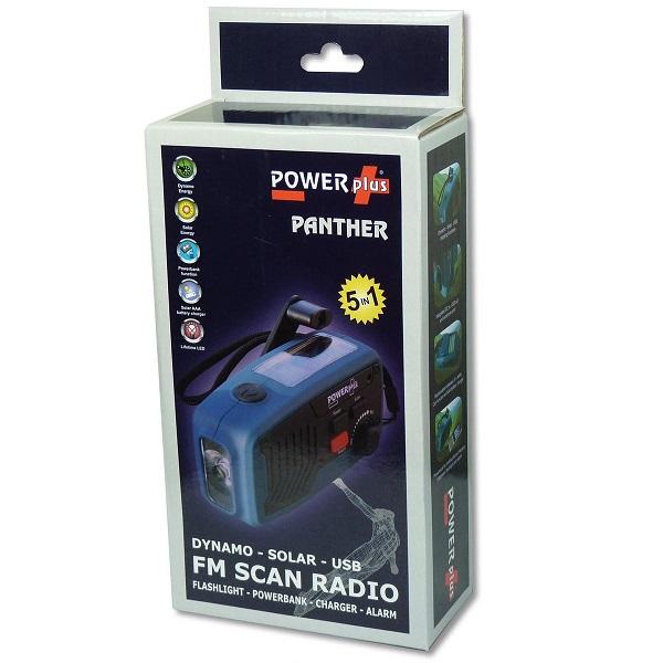 powerplus panther radio verpakking